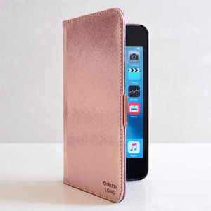 Luxury iPhone Case In Rose Gold
