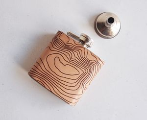 Ben Nevis Topographic Flask - men's accessories