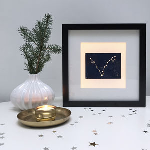 Personalised Pisces Constellation Light Box - children's lighting