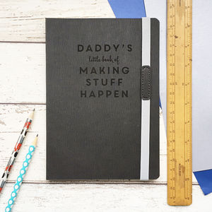 'Making Stuff Happen' Personalised Planning Notebook
