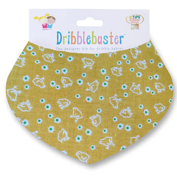 Easter Gift Baby Bib With Chicks