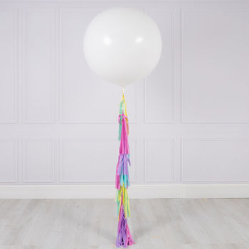 Easter Tassel Tail Giant Balloon