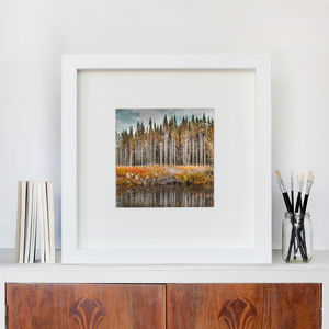Norwegian Wood To The Cabin Home Fine Art Print - shop by price