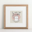 Children's Personalised Mummy Print