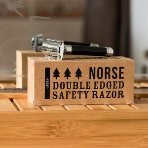 Ebony Double Edged Safety Razor