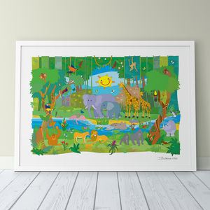 Jungle Adventure Fine Art Print - prints & art