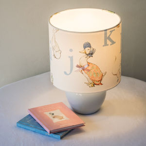 Beatrix Potter, Jemima Puddle Duck™ Pink Lampshade - bedroom