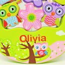 Personalised Wooden Owl Balancing Game