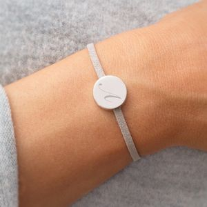 Laila Personalised Disk Bracelet - women's jewellery