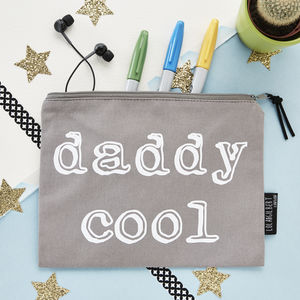 'Daddy Cool' Pouch - make-up & wash bags