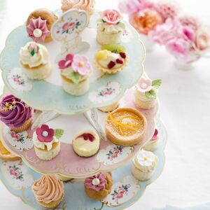 Afternoon Tea Floral Cake Stand