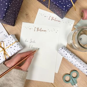 'I Believe' Writing Paper Set