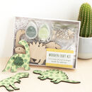 Dinosaur Wooden Craft Kit