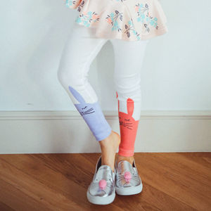 Bunny Leggings - girls' leggings