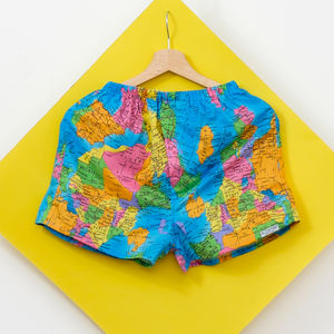World Map Men Boxer Shorts - underwear & socks