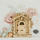 Personalised Wooden Fairy Door For Children