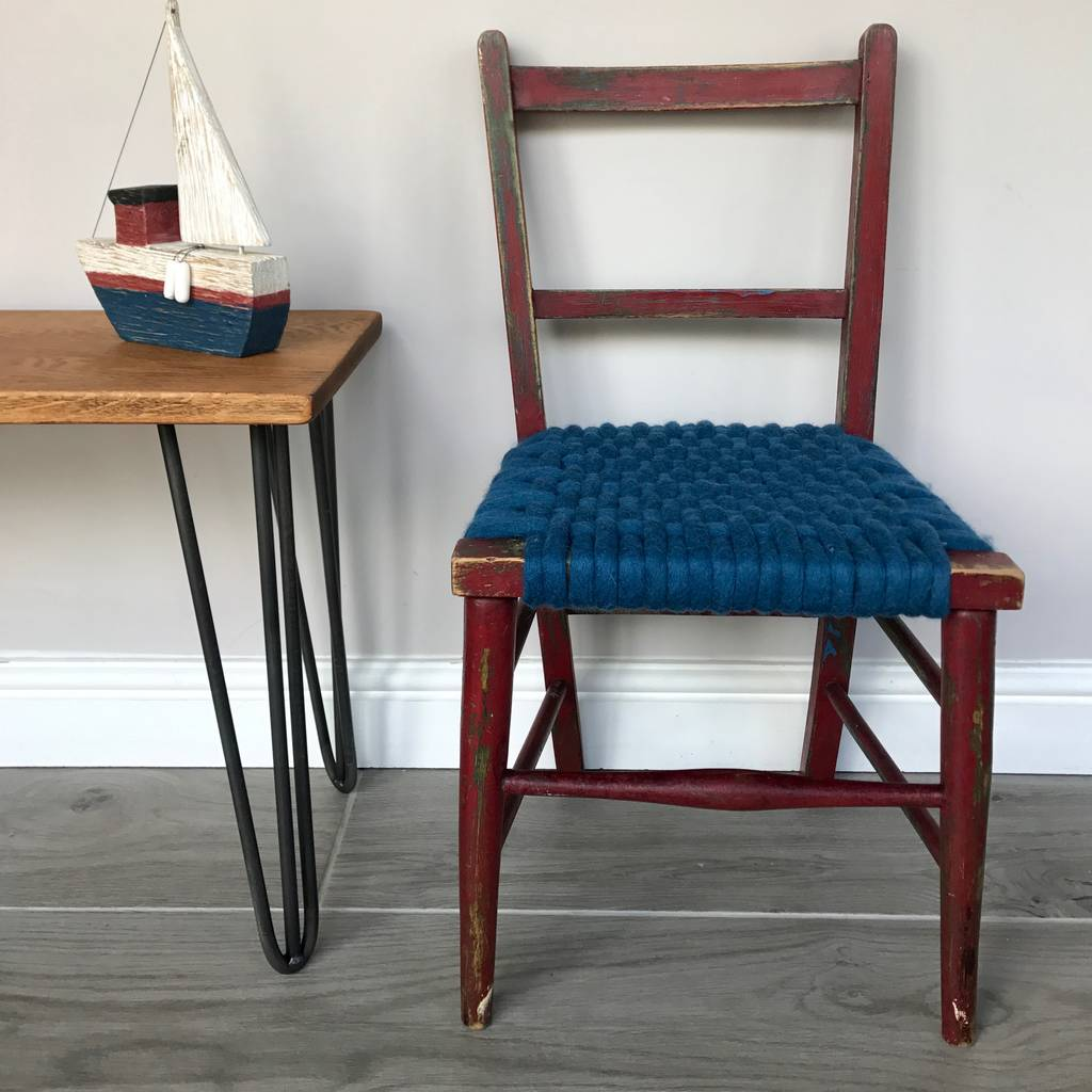 One Of A Kind Hand Woven Children's Nursery Chairs