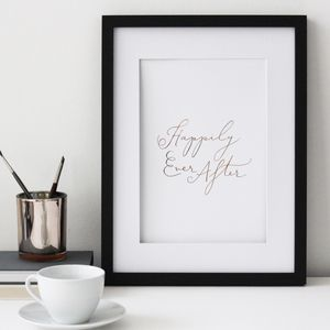 Happily Ever After Print - posters & prints