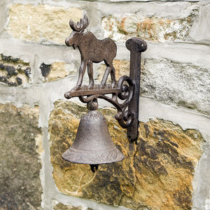Moose Cast Iron Doorbell - home decorating
