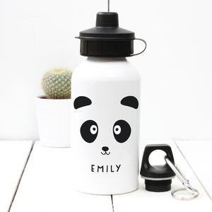 Personalised 'Panda' Water Bottle - for over 5's
