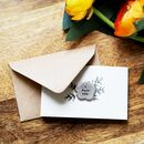 'I Pick You' Flower Tiny Token Card