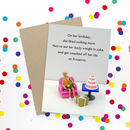 Birthday Prosecco Funny Card