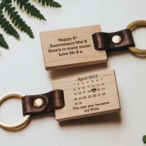 Personalised 'The Day You Became My…' Key Ring - keyrings