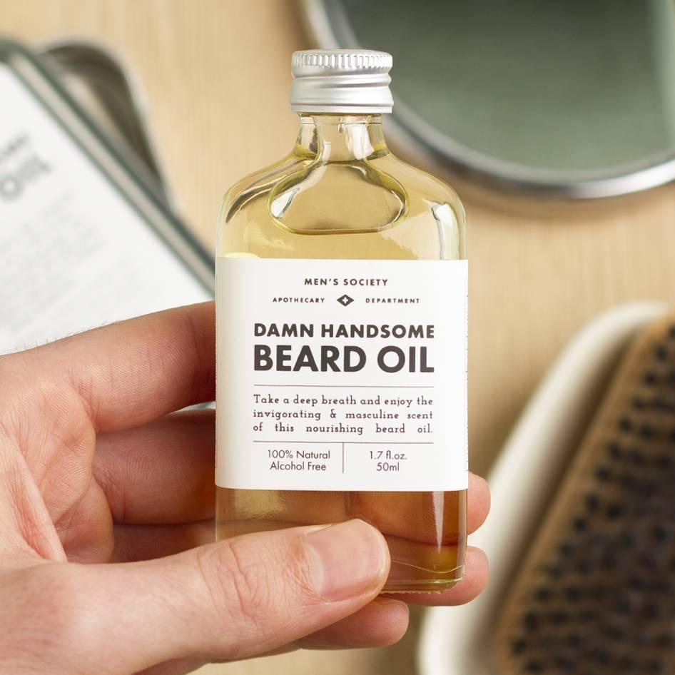 'Damn Handsome' Natural Beard Oil