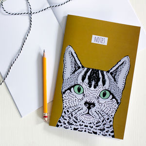 Illustrated Cat Notebook
