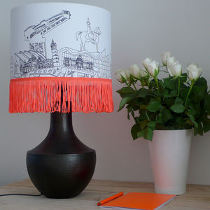 Hand Drawn Glasgow Lampshade - lampshades
