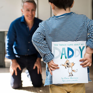 Reasons I Love Dad Childrens Book - gifts for him
