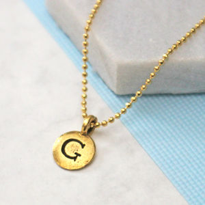 Bespoke Initial Necklace