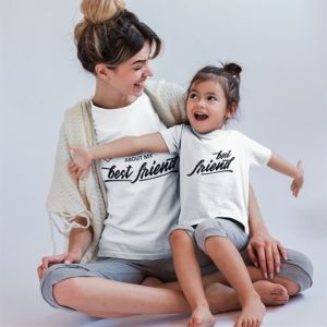 Best Friends Twinning Mummy And Me T Shirts