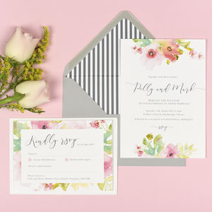 Juliette Wedding Invitations - invitations
