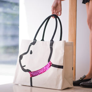 Personalised Doggy Tote Bag - womens
