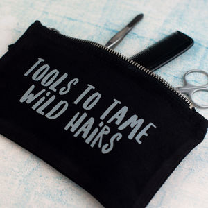 'Tools To Tame Wild Hairs' Men's Washbag Kit