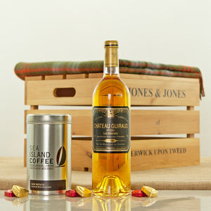 Chateau Guiraud 1998 Luxury After Dinner Hamper - drinks hampers