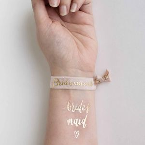 Hen Party Tattoo And Hair Tie Set