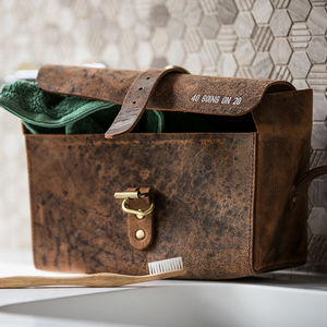 Personalised Wash Bag - original gifts for him
