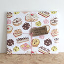 Great British Cakes Wrapping Paper