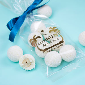 Personalised 'I'm Coconuts About You!' Chocolate Gift - valentine's gifts for her