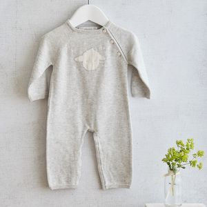 Cashmere Cotton Little Lamb Babygrow