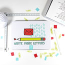 Write More Letters Stationery Set
