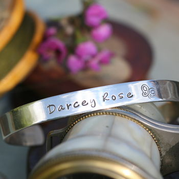 Cutie Personalised Childrens Bangle