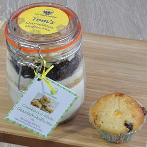 The Bake Off Cranberry And White Choc Muffin Jar