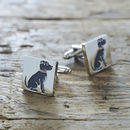 Staffie Cufflinks