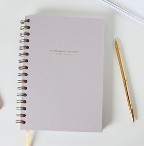 The Essential Planner Undated