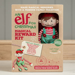 Boy Christmas Elf Toy And Magical Reward Kit - toys & games