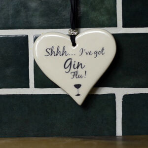 Gin Themed Hearts