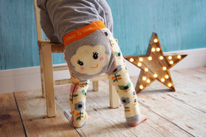 Flower Face Leggings - little kids, big smiles